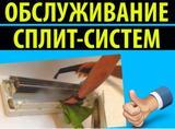 Профессиональная чистка сплит-систем